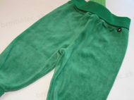 Obrázok z Tepláky velurové zelené 68,74,80