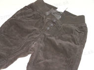 Obrázok z Menžestrové nohavice podšité veľ.74