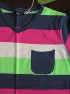 Obrázok z Tričko -farebný pásik 128
