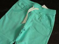 Obrázok z Tepláky bledo tyrkysovo modré 110