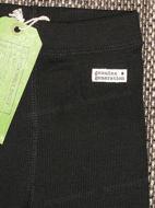 Obrázok z Tepláky vrúbkované čierne 74