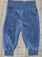 Obrázok z Tepláky velúrové tmavomodré 68,74,80,86