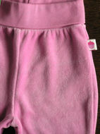 Obrázok z Tepláky velúrové ružové baby 56