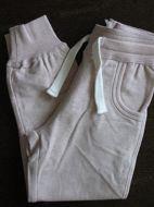Obrázok z Tepláky elastické staroružové melírované 116