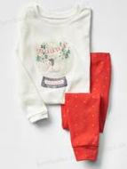 Obrázok z Pyžamo vianočná guľa 92,98