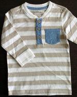Obrázok z Tričko pásikované s vreckom 74,80