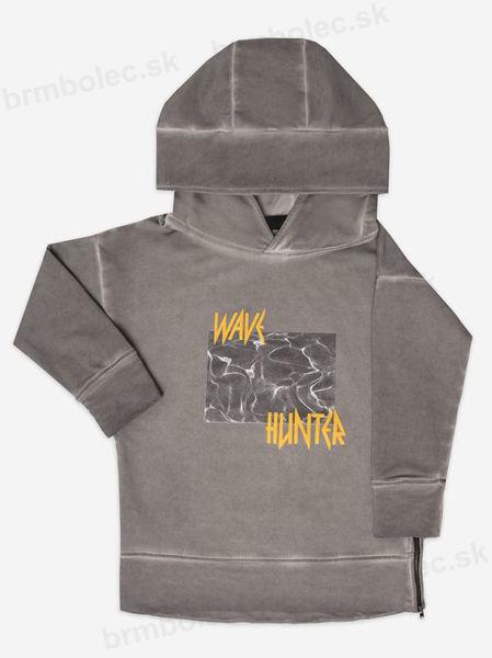 Obrázok z Mikina s kapucňou WAVE HUNTER HOODIE 98/104,110/116,122/128,134/140