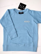 Obrázok z Mikina s vreckom SWEATSHIRT LAGOON BLUE 134/140