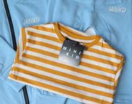 Obrázok z Tričko T-SHIRT STRIPED YELLOW