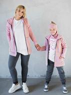 Obrázok z Mikina ZIP hoodie pink 146/152,158/164