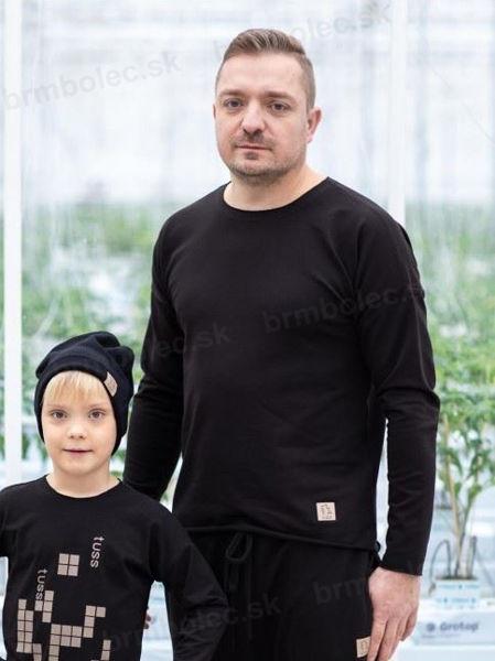 Obrázok z PÁNSKE Tričko DR BLACK  M/L,L/XL
