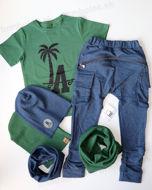 Obrázok z Tričko zelené PALMA 86/92