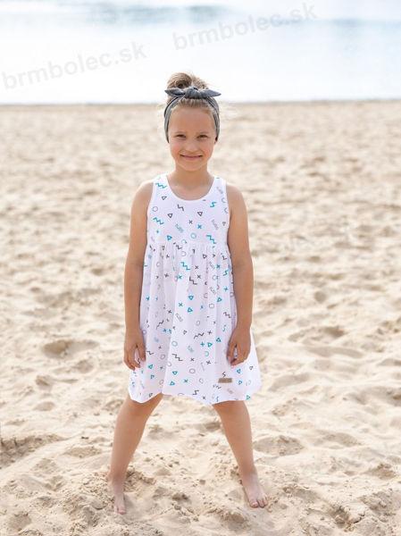 Obrázok z Šaty DIEVČENSKÉ Summer white STAMPS  92 až 164