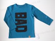 Obrázok z Tričko DR BAD  petrolejová modrá