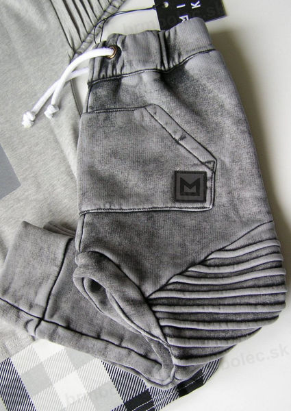 Obrázok z Nohavice  ACID GRAPHITE PANTS (MINIKID CLASSICS) 110/116