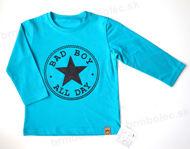 Obrázok z Tričko DR BAD BOY BLEDÉ MODRÉ 86/92,122/128