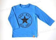 Obrázok z Tričko DR BAD BOY dopravná modrá 86/92