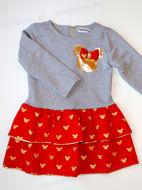 Obrázok z Šaty Mickey 𝐆𝐎𝐋𝐃/červené 80/86,92/98,128/134
