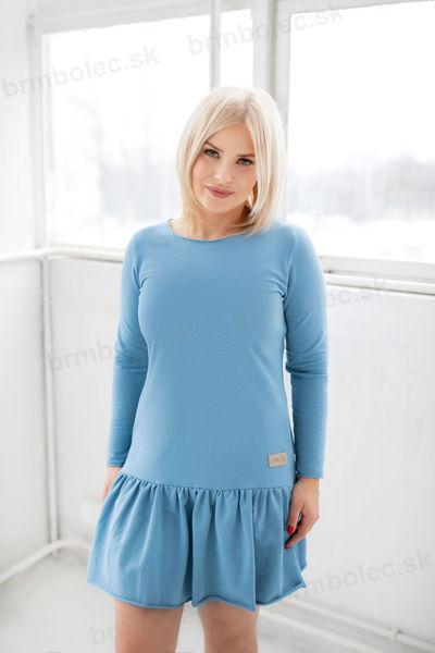 Obrázok z Šaty DÁMSKE  Frilly BLUE XS/S,S/M,M/L