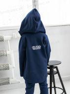Obrázok z Mikina ZIP hoodie coat NAVY 92/98,98/104,158/164