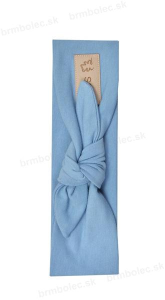 Obrázok z Čelenka s uzlíkom BLUE S,M,L