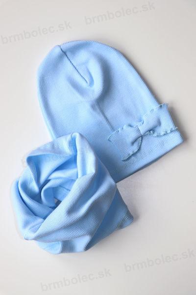Obrázok z Čiapka+ tunel BM MŠL bledá modrá