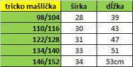 Obrázok z Mašličkový top pudrovo ružový 98/104,110/116,146/152