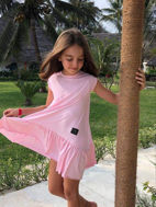 Obrázok z Šaty oversize Sweet pink *MIMI*