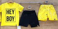 Obrázok z Šortky  žlté frkané 86-140
