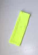 Obrázok z Čelenka vrúbkovaná neon žltá UNI