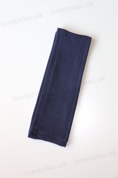 Obrázok z Čelenka vrúbkovaná sivomodrá UNI
