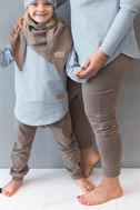 Obrázok z BAGGY PANTS light brown (MAMA&DIEŤA)