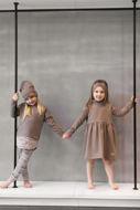 Obrázok z Šaty kapucňa HNEDÉ (MAMA&DIEŤA)